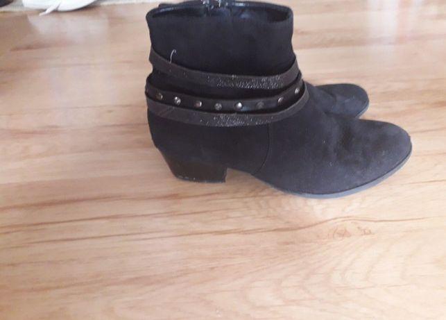 Buty czarne  rozmiar 34