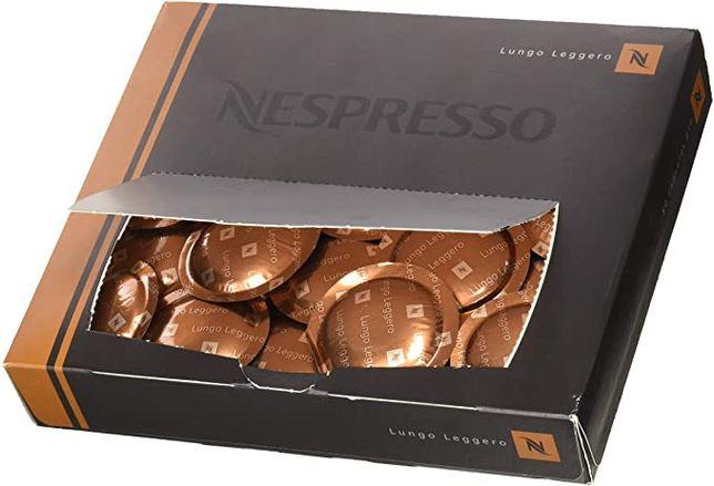 Nespresso Lungo Leggero kapsułki płaskie 50 sztuk kawa