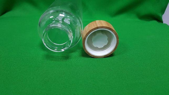 Бутылка для воды StreetGO blue bamboo