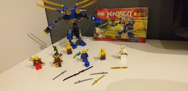 Lego ninjago 70754 plus figurki