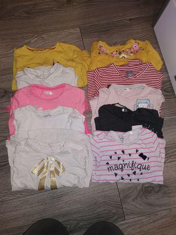 Paka ubrań dla dziewczynki 104-116
