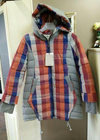 Женская куртка пуховик осень зима