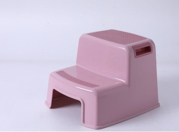 Ступенька под раковину и унитаз Премиуи Светло-розовая Babyhood