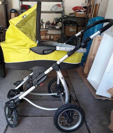 Wózek 2w1 xlander x-lander gondola spacerówka, pełen komplet.