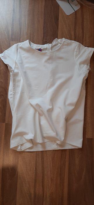 Kremowa bluzka ciążowa Palędzie - image 1