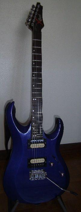 Guitarra Eléctrica Cort X-2 Glória E Vera Cruz - imagem 1