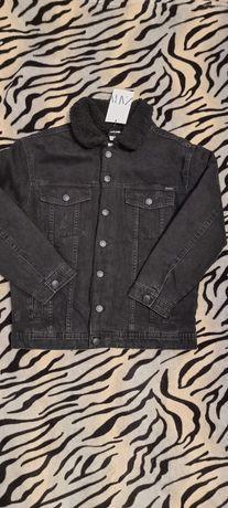 Утепленный джинсовый пиджак Zara Оригинал 140 и 152