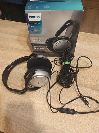 Słuchawki nauszne Philips SHP2500 z 6m przewodem