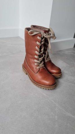 Зимові чоботи шкіряні 30 розміру