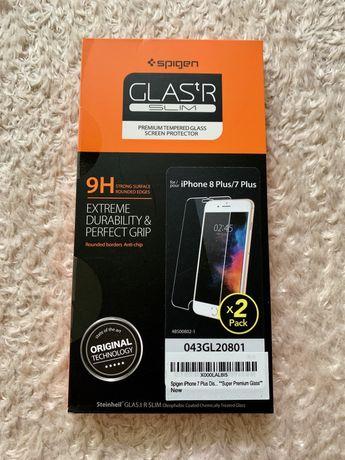 Spigen Glas.tR szkło hartowane 9H dla iPhone 7/8 Plus