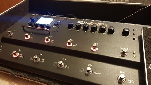 Line6 POD HD500X + box brzmień - procesor, multiefekt gitarowy