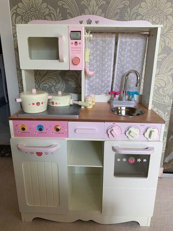 Kuchenka drewniana zabawka dla dziecka