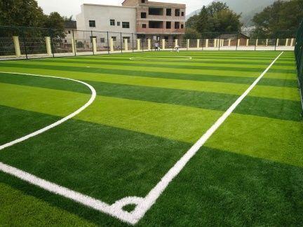 Под ключ спортивная площадка, футбольное поле из искусственного газона