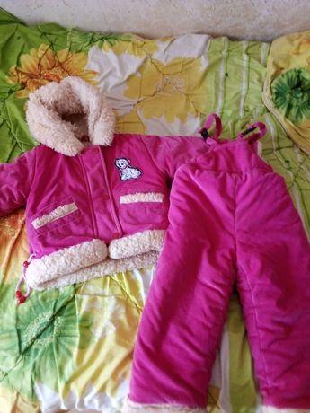 Зимний костюм на овчине