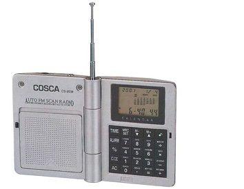Kalkulator z wielofunkcyjnym zegarem i FM radiem - XK2068