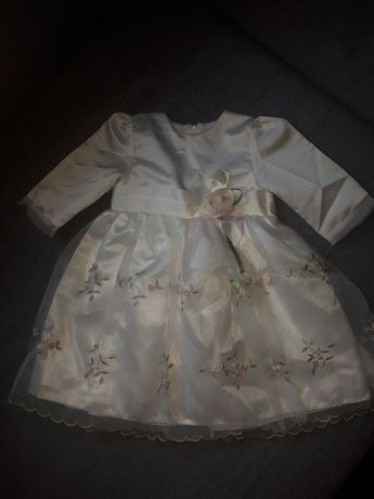 Sukieneczka chrzest,wesele okazje r.74