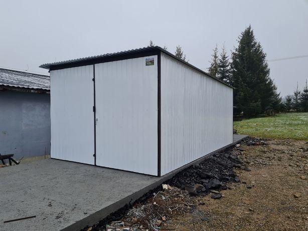 Garaż blaszany 3x5 garaże blaszane PROMOCJA Kolor w cenie ocynku