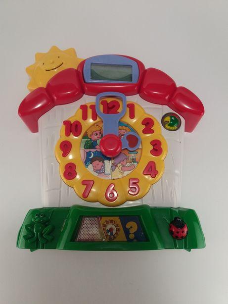 """музыкальная развивающая игрушка ( іграшка ) """"Часики знаний"""""""