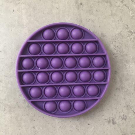 Игрушка антистресс попит поп ит фиолетовый круг опт