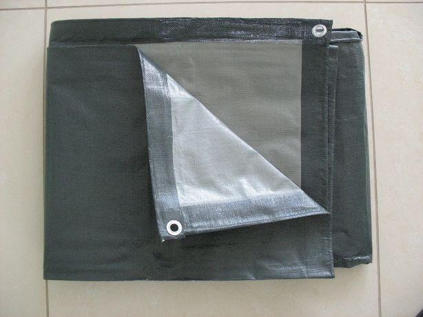 Plandeka 5x8 szaro-srebrna 200g/m2, plandeki w różnych rozmiarach