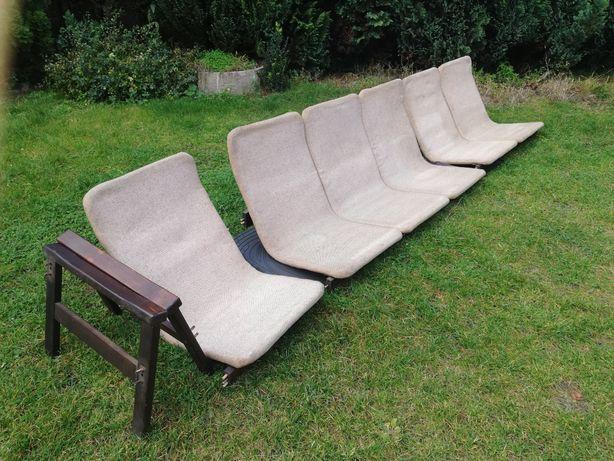 Komplet Mebli Tatra 1+2+3 Orginał Retro Meble Fotel Sofa