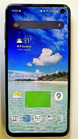 Smartfon Samsung S10E - uszkodzony, sprawny!