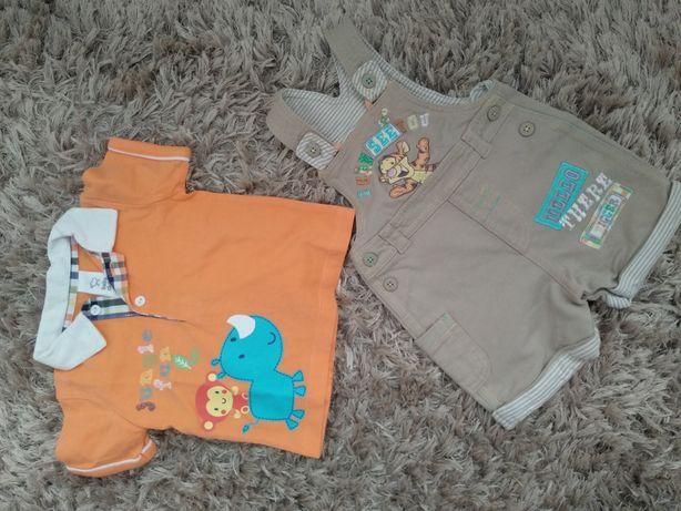 Комплект набор костюм футболка шорты next oshkosh h&m 6 -12 мес