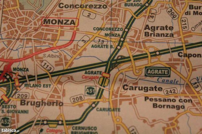 Lombardia-prowincja Bergamo-Włochy-mapa-663