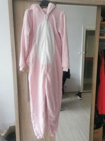 Kostium/piżama różowy smok one size