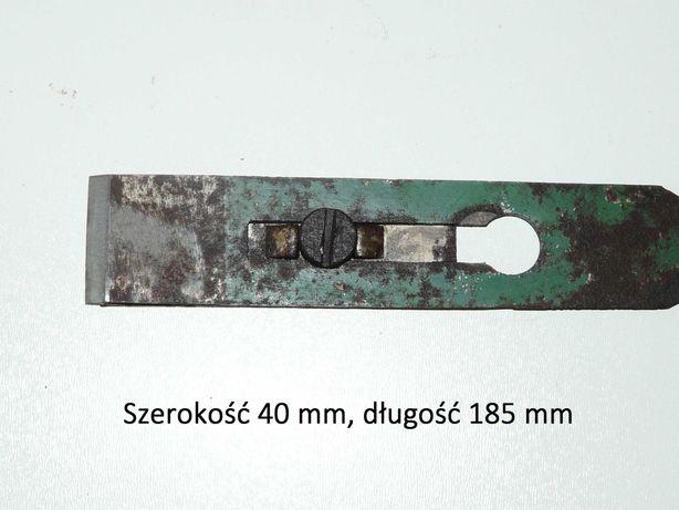 Nóż do struga ręcznego 40 x 185