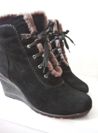 Шикарные замшевые ботинки /tanssico/