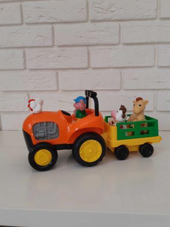 Traktor Dumel Wesoła Farma jeżdżący zwierzęta