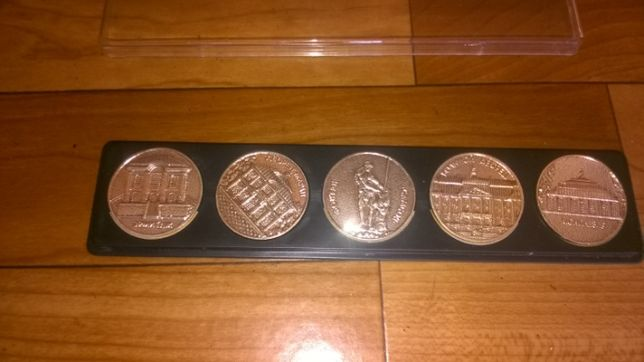 """Набор медалей:"""" Питер"""", СССР."""