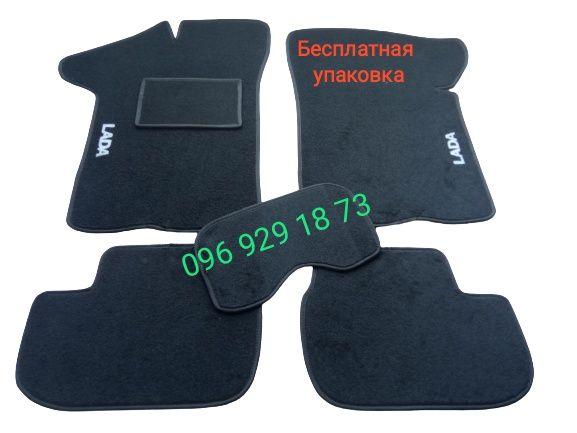 Коврики текстильные авто ВАЗ 2108/2109/21099,2113-2115,Ланос ворсовые