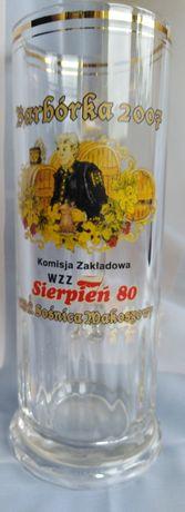 Kufel piwny KWK Sośnica Makoszowy ozdobny kufel 2007