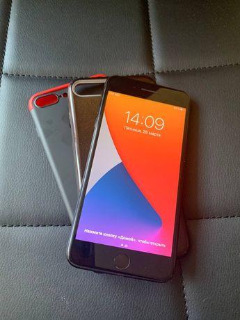 Срочно. Iphone 7 + plus 128 Jet black.
