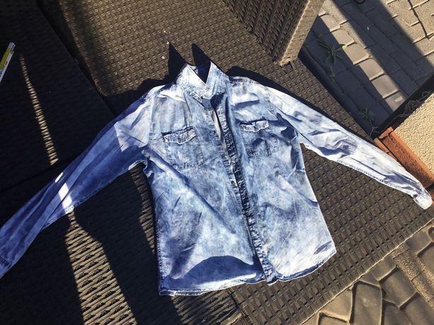 Koszula Reserved rozmiar na 182 cm szczupły genialny kolor