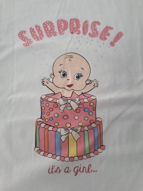 Lc waikiki t-shirt koszulka ciążowa roz 38