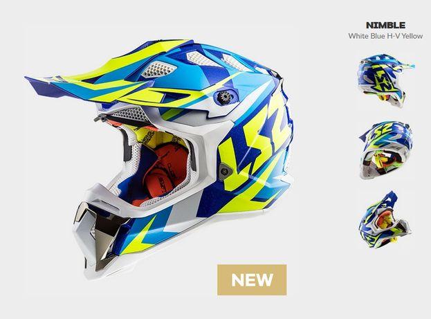 Мотошлем LS2 MX470 S шлем мотоциклетный для мотоцикла мото