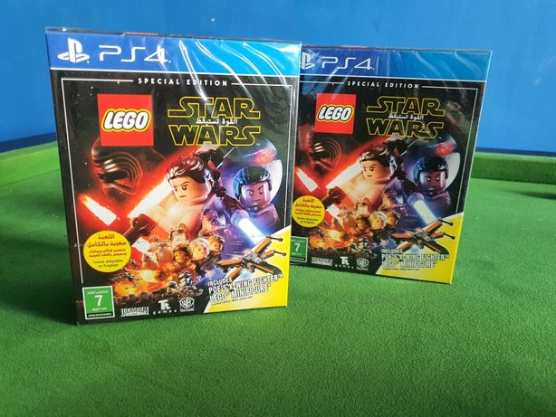 Lego Star Wars Ps4 The Force awakens PlayStation 4 Xwing fight Unikat