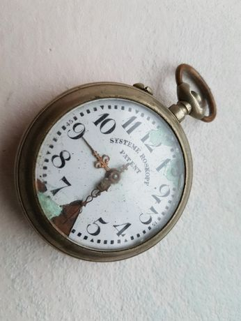 Часы Systeme Roskopf. Не рабочие