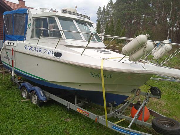 Jacht Motorowy Benetau 8m - Motorówka Łódz Motorowa