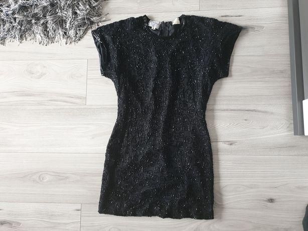 Sukienka na sylwestra cekinowa mala czarna s z Usa