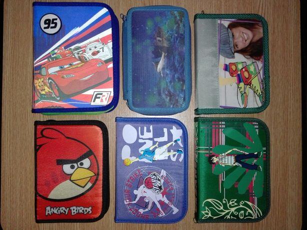 Школьные принадлежности: дневник пенал рюкзак карандаши краски картон