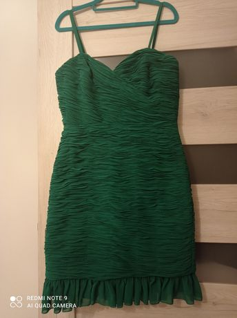 Sukienka koktajlowa Jake*s - Peek & Cloppenburg rozmiar 38.