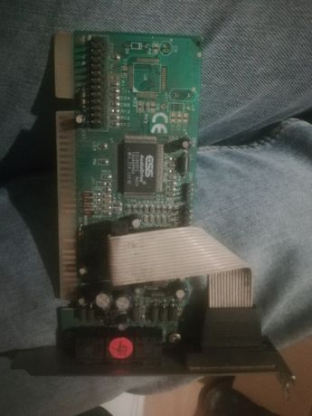 karta graficzna i dźwiękowa retro s3trio, ess audio drive. sprawne.