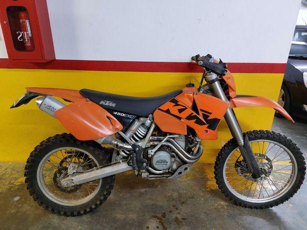KTM 450 EXC como nova