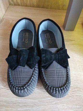 Туфли-чешки,с бантиком