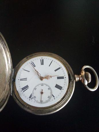 Relógio bolso prata