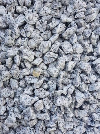 Grys dalmatyńczyk granitowy kamień ozdobny transport 3,5t gratis